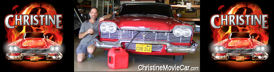 Christine Movie Car | Authentic Plymouth 1958 Fury Car Christine Movie