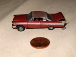 1958 Plymouth HO scale Lebay Car.jpg